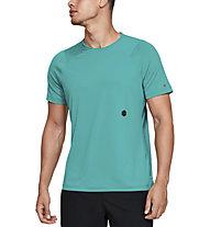 Under Armour RUSH™ - T-Shirt Training - Herren, Light Green