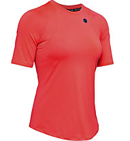 Under Armour UA Rush SS - T-shirt - Damen, Red