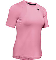 Under Armour UA Rush SS - T-shirt - Damen, Pink