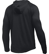 Under Armour Ua scope full-zip Giacca con cappuccio fitness, Black