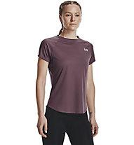 Under Armour UA Speed Stride Short Sleeve - T-shirt - donna, Purple