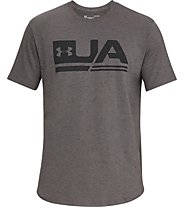 Under Armour UA Sportstyle SS - T-shirt fitness - uomo, Brown
