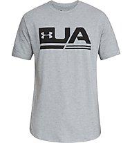 Under Armour UA Sportstyle SS - T-shirt fitness - uomo, Light Grey