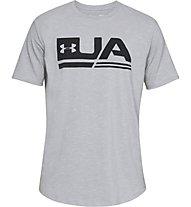 Under Armour UA Sportstyle SS - T-shirt fitness - uomo, Grey