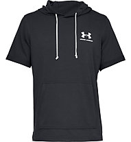 Under Armour UA Sportstyle Terry - Kapuzenpullover kurzarm - Herren, Black