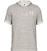 Under Armour UA Sportstyle Terry - Kapuzenpullover kurzarm - Herren, Grey