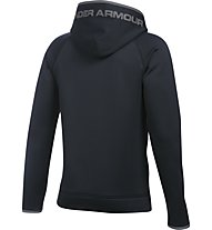 Under Armour Boys Fleece Highlight Big Logo Hoodie - Kapuzenpullover Jungen, Black