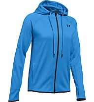 Under Armour Felpa Zip Full - Kapuzenjacke - Damen, Water Blue