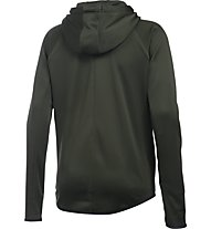 Under Armour Felpa Zip Full - Kapuzenjacke - Damen, Artillery Green