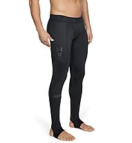Under Armour UA Storm Cyclone ColdGear - pantaloni fitness - uomo, Black