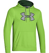 Under Armour UA Storm Fleece Big Logo Hoodie, Gecko/Moat Green/Steel