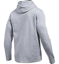 Under Armour UA Storm Rival Fleece Felpa con cappuccio fitness, True Grey