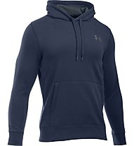 Under Armour UA Storm Rival Fleece Felpa con cappuccio fitness, Midnight Navy Blue