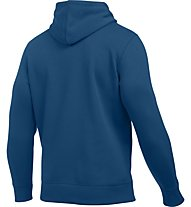 Under Armour UA Storm Rival Fleece Felpa con cappuccio fitness, Heron Blue
