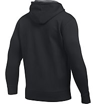 Under Armour Fleece Hoodie UA Strom Rival Zip - Kapuzenjacke - Herren, Black