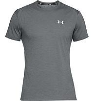 Under Armour UA Stracker 2.0 - maglia running - uomo, Grey