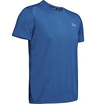 Under Armour UA Stracker 2.0 - maglia running - uomo, Blue
