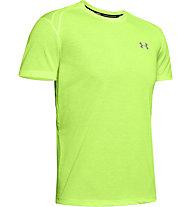 Under Armour UA Stracker 2.0 - maglia running - uomo, Yellow