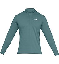 Under Armour Streaker 2.0 - maglia con zip running - uomo, Green