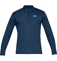 Under Armour Streaker 2.0 - maglia con zip running - uomo, Dark Blue