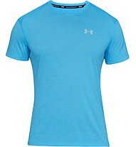Under Armour UA Stracker 2.0 - maglia running - uomo, Light Blue