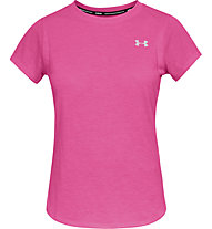 Under Armour Streaker 2.0 - maglia running - donna, Pink