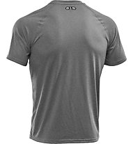 Under Armour UA Tech Kurzarm-Shirt Herren, True Grey