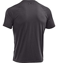 Under Armour UA Tech Kurzarm-Shirt Herren, Carbon Heather Grey
