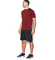 Under Armour UA Tech Kurzarm-Shirt Herren, Dark Red