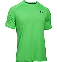 Under Armour UA Tech Kurzarm-Shirt Herren, Northern Lights Green