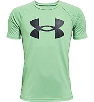 Under Armour UA Tech™ Big Logo SS - T-shirt - Kinder, Green/Black