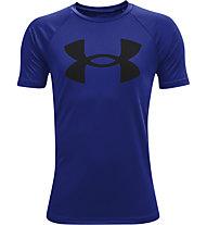 Under Armour UA Tech™ Big Logo SS - T-shirt - Kinder, Dark Blue/Black