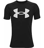 Under Armour UA Tech™ Big Logo SS - T-shirt - Kinder, Black/White