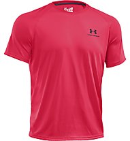Under Armour UA Tech Herren-Trainingsshirt, Pink