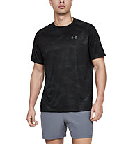Under Armour Tech  Printed - T-Shirt - Herren, Black