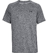 Under Armour UA Tech - T-shirt fitness - uomo, Dark Grey Melange