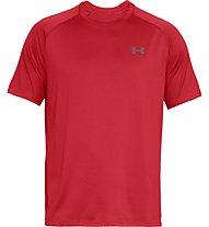 Under Armour UA Tech - T-shirt fitness - uomo, Dark Red