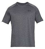Under Armour UA Tech SS Tee - T-Shirt - Herren, Dark Grey/Black