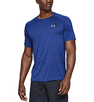 Under Armour UA Tech - T-shirt fitness - uomo, Blue/Grey