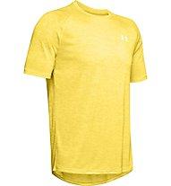 Under Armour UA Tech - T-shirt fitness - uomo, Yellow