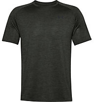 Under Armour UA Tech - T-shirt fitness - uomo, Dark Green/Brown/Black