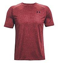 Under Armour UA Tech - T-shirt fitness - uomo, Dark Red/Black