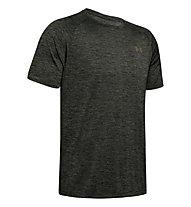 Under Armour UA Tech - T-shirt fitness - uomo, Dark Green/Dark Green