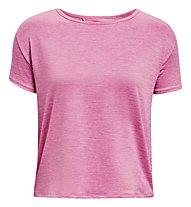 Under Armour UA Tech Vent SS - Fitnesshirt - Damen, Pink
