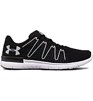 Under Armour UA Thrill 3 - scarpe running neutre - uomo, Black/White