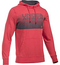 Under Armour UA Tri-Blend Fleece Graphic Kapuzenpullover Herren, Red
