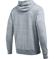 Under Armour Felpa Tri-Blend Fleece Graphic - Kapuzenpullover - Herren, Steel Grey