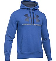 Under Armour Felpa Tri-Blend Fleece Graphic - Kapuzenpullover - Herren, Royal Blue