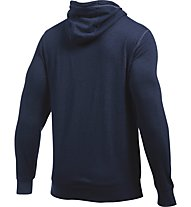 Under Armour Felpa Tri-Blend Fleece Graphic - Kapuzenpullover - Herren, Midnight Navy Blue