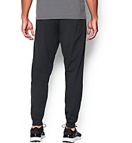 Under Armour UA Tricot Pantaloni lunghi fitness, Black